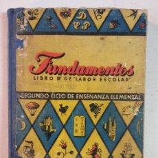Libros: BJS. FUNDAMENTOS LIBRO 3 DE LABOR ESCOLAR. SEGUNDO CICLO DE ENSEÑANZA ELEMENTAL. EDT. DALMAU CARLES.. Lote 138531714