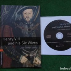 Libros: HENRY VIII AND HIS SIX WIVES. JANET HARDY-GOULD. Lote 139027922