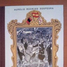 Libros: FORMACIÓN DEL ESPÍRITU NACIONAL. TERCER CURSO. AURELIO RODRIGO SOSPEDRA.. Lote 139396129