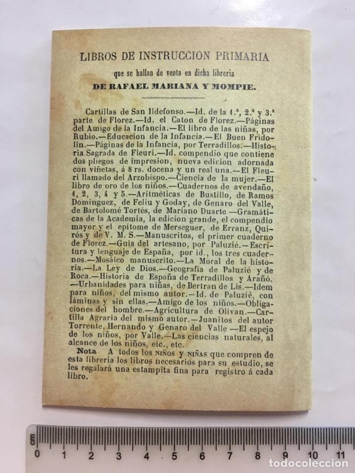 Libros: REGLAS DE URBANIDAD PARA USO DE LAS SEÑORITAS. VALENCIA, 1880. FACSIMIL. - Foto 2 - 141089192