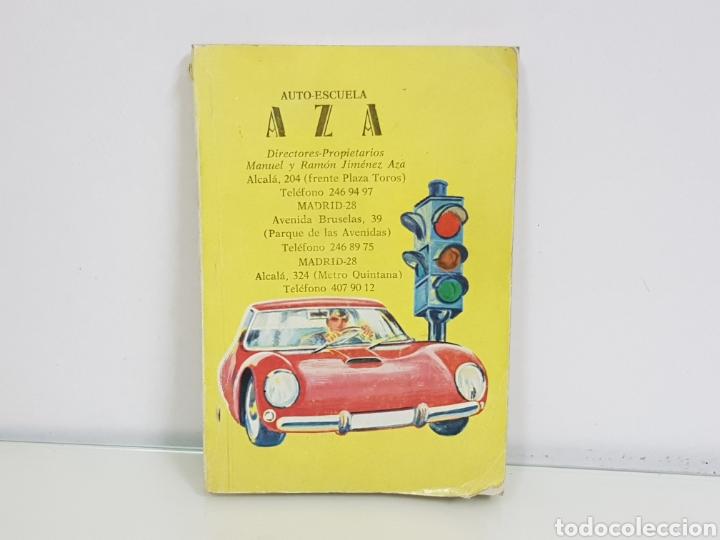 AUTO ESCUELA AZA LIBRO DE AUTOESCUELA MEDIDAS 15,5 X 10,5CMS (Libros Nuevos - Educación - Aprendizaje)