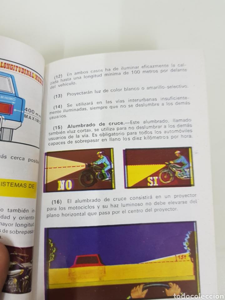 Libros: Auto escuela AZA libro de autoescuela MEDIDAS 15,5 x 10,5cms - Foto 3 - 141183206