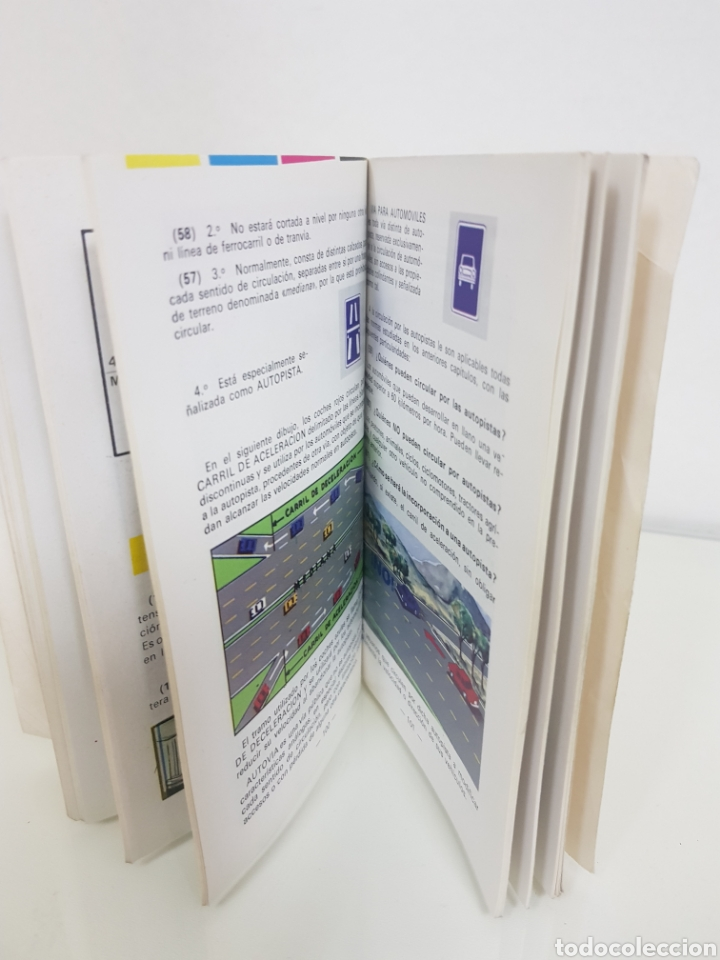 Libros: Auto escuela AZA libro de autoescuela MEDIDAS 15,5 x 10,5cms - Foto 4 - 141183206