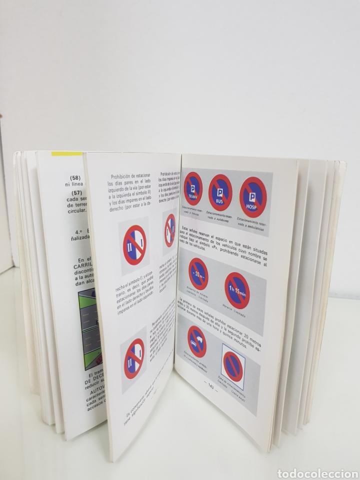 Libros: Auto escuela AZA libro de autoescuela MEDIDAS 15,5 x 10,5cms - Foto 5 - 141183206