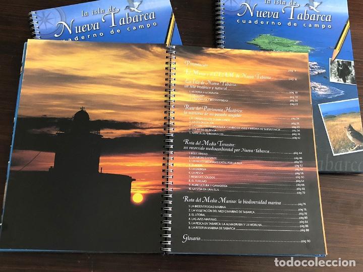 Libros: LIBRO CUADERNO DE CAMPO LA ISLA DE TABARCA. TAPA DURA 27X20 CM. 95 PAGS. MUY ILUSTRADO. - Foto 2 - 145339874