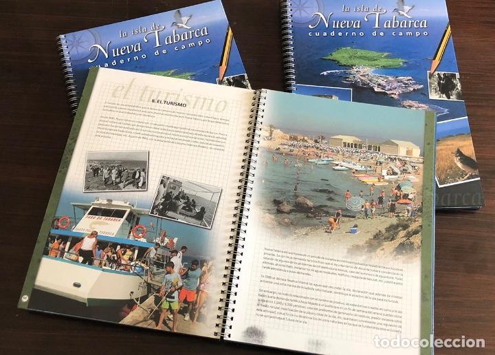 Libros: LIBRO CUADERNO DE CAMPO LA ISLA DE TABARCA. TAPA DURA 27X20 CM. 95 PAGS. MUY ILUSTRADO. - Foto 4 - 145339874
