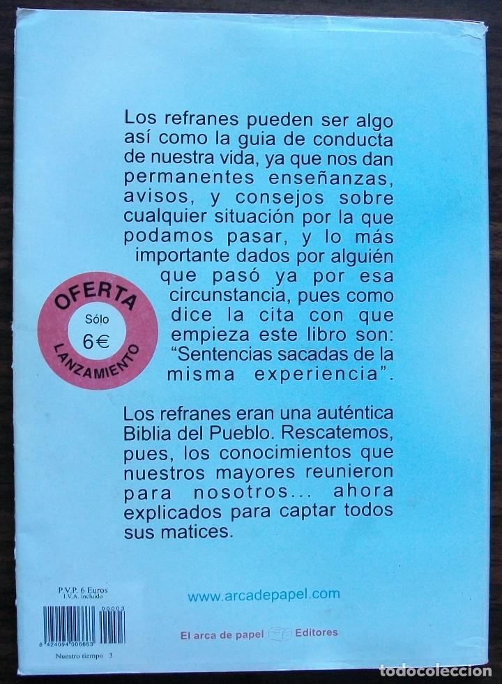 Libros: EL LIBRO DE LOS REFRANES EXPLICADOS. - Foto 2 - 145663850