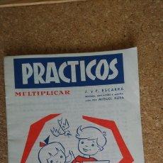 Libros: CUADERNO EGB PRÁCTICOS MULTIPLICAR NUM. 12. Lote 149802168