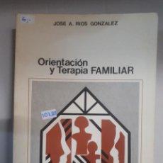 Livres: ORIENTACION Y TERAPIA FAMILIAR . Lote 150924842