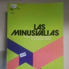 Libros: LAS MINUSVALIAS. Lote 150930002