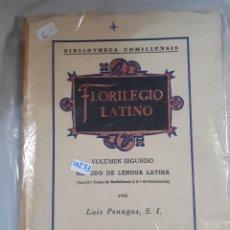 Libros: FLORILEGIO LATINO . Lote 151074366