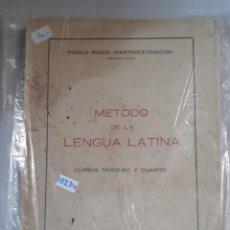 METODO DE LA LENGUA LATINA