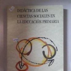 Livros: DIDACTICA DE LAS CIENCIAS SOCIALES EN LA EDUCACION PRIMARIA. Lote 152882262