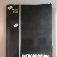 Libros: INTRODUCCION AL DERECHO . Lote 152883050