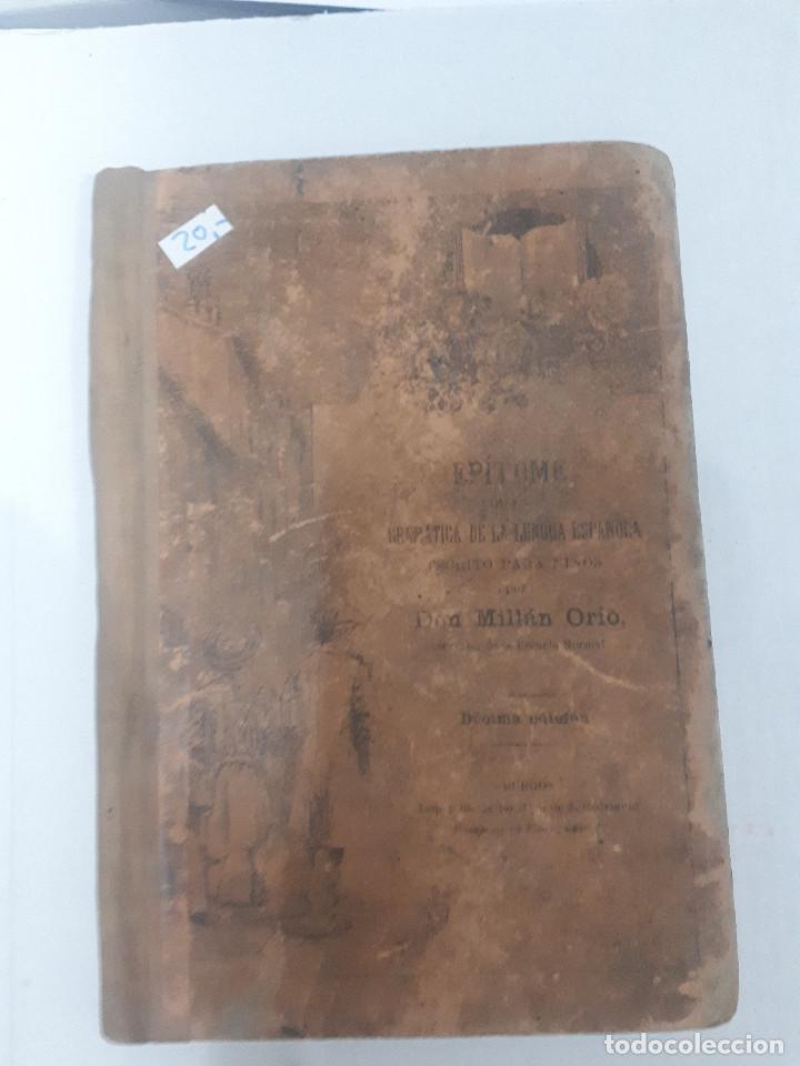 11205 - EPITOME DE LA GRAMATICA DE LA LENGUA ESPAÑOLA (Libros Nuevos - Educación - Aprendizaje)