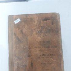 Libros: 11205 - EPITOME DE LA GRAMATICA DE LA LENGUA ESPAÑOLA . Lote 154610954