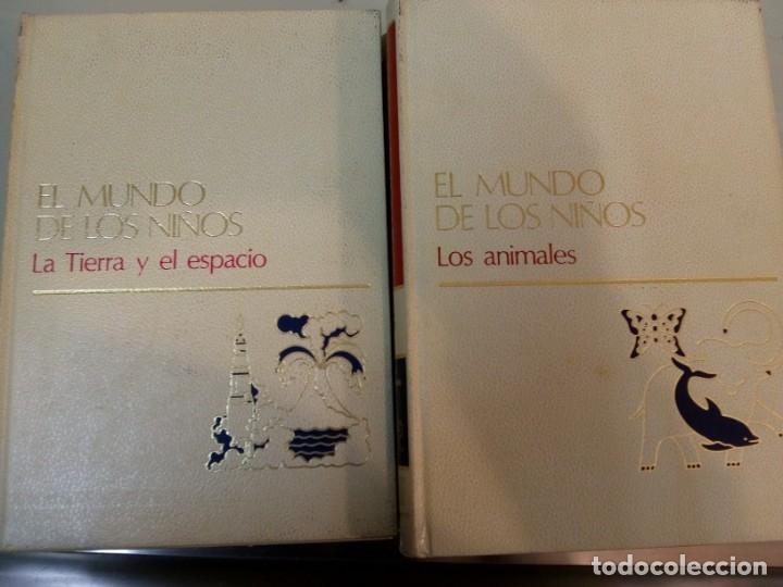 Libros: - EL MUNDO DE LOS NIÑOS - SALVAT - (15 TOMOS - COMPLETA)BUEN ESTADO-VER FOTOS,1974,REF 009 - Foto 2 - 155396130