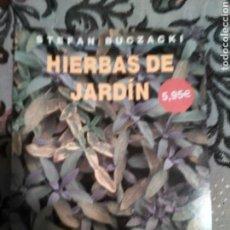 Libro jardineria.Hierbas de jardin.