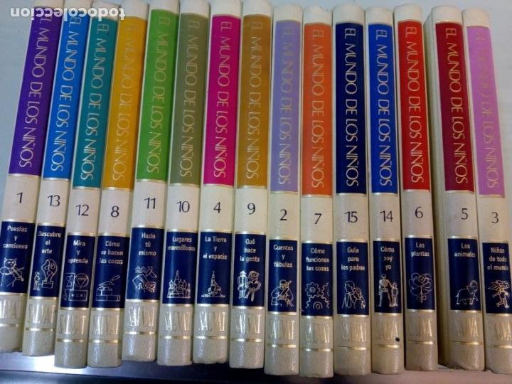 - EL MUNDO DE LOS NIÑOS - SALVAT - (15 TOMOS - COMPLETA)BUEN ESTADO-VER FOTOS,1974,REF 009 (Libros Nuevos - Educación - Aprendizaje)