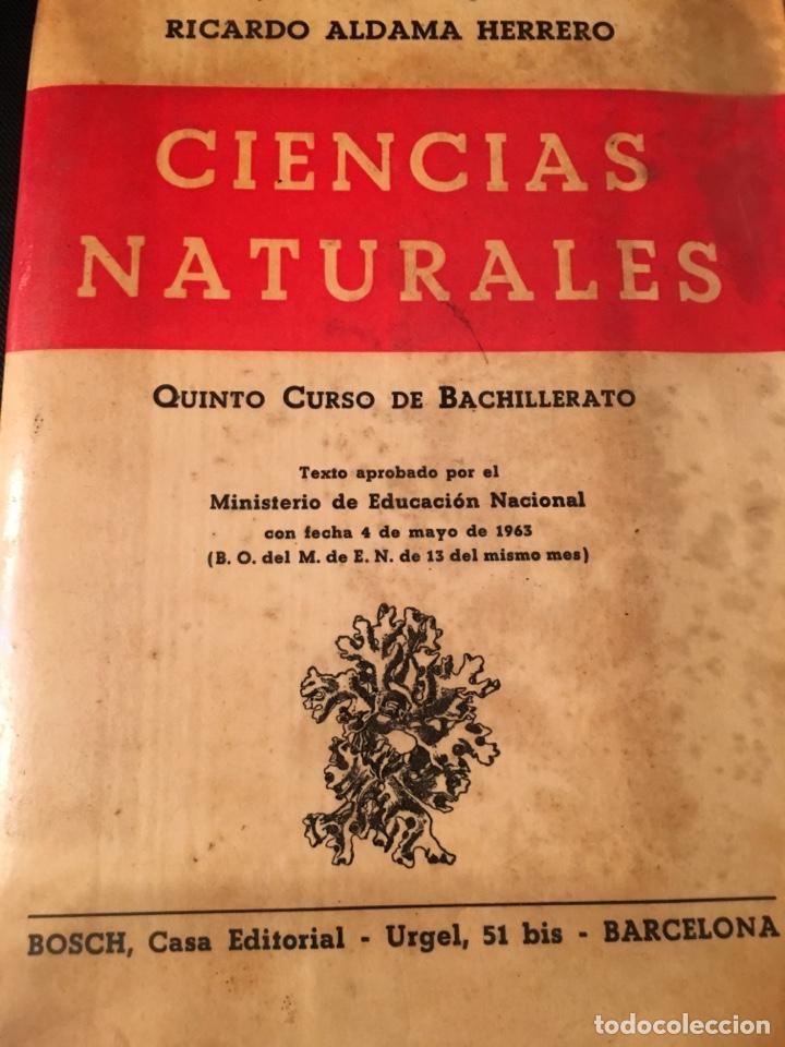 CIENCIAS NATURALES QUINTO CURSO DE BACHILLERATO (Libros Nuevos - Educación - Aprendizaje)