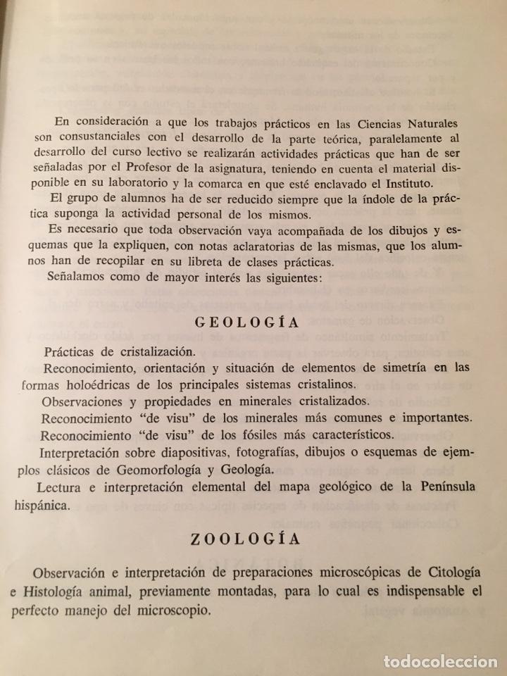 Libros: CIENCIAS NATURALES Quinto curso de Bachillerato - Foto 3 - 156006189