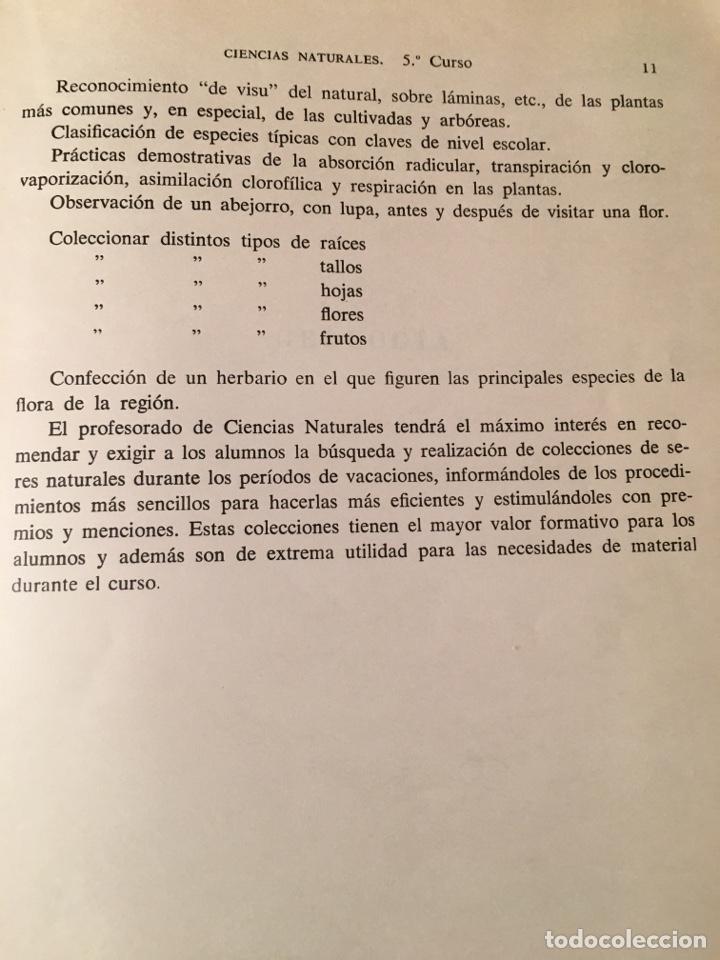 Libros: CIENCIAS NATURALES Quinto curso de Bachillerato - Foto 5 - 156006189