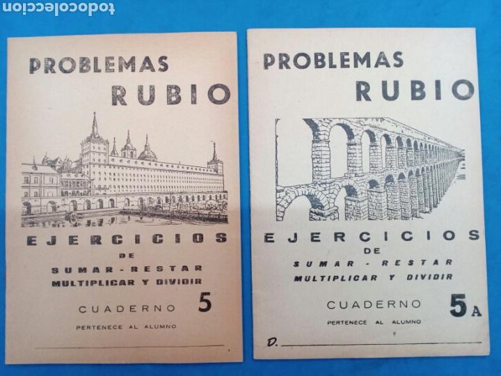Libros: Lote de 6 cuadernillos Rubio 4-4a , 5-5a , 6-6a , Valencia años 1960-70 - Foto 3 - 156486866