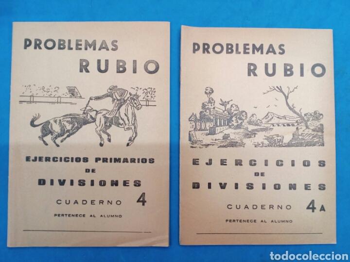 Libros: Lote de 6 cuadernillos Rubio 4-4a , 5-5a , 6-6a , Valencia años 1960-70 - Foto 2 - 156486866