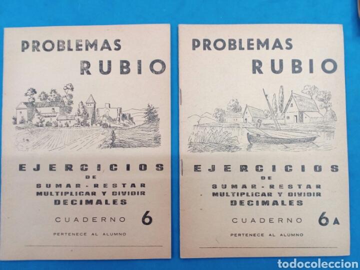 Libros: Lote de 6 cuadernillos Rubio 4-4a , 5-5a , 6-6a , Valencia años 1960-70 - Foto 4 - 156486866