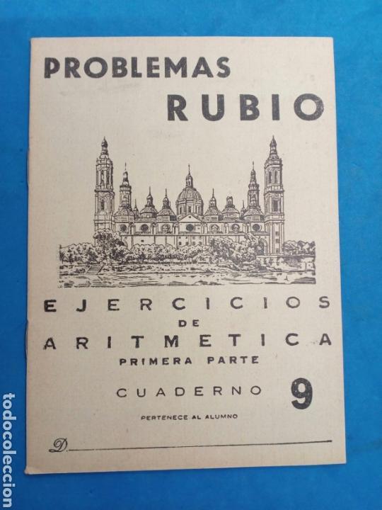 Libros: Lote 8 cuadernillos Rubio 7,9,10,12,13,15,16,17, Valencia años 1960-70 - Foto 3 - 156490580