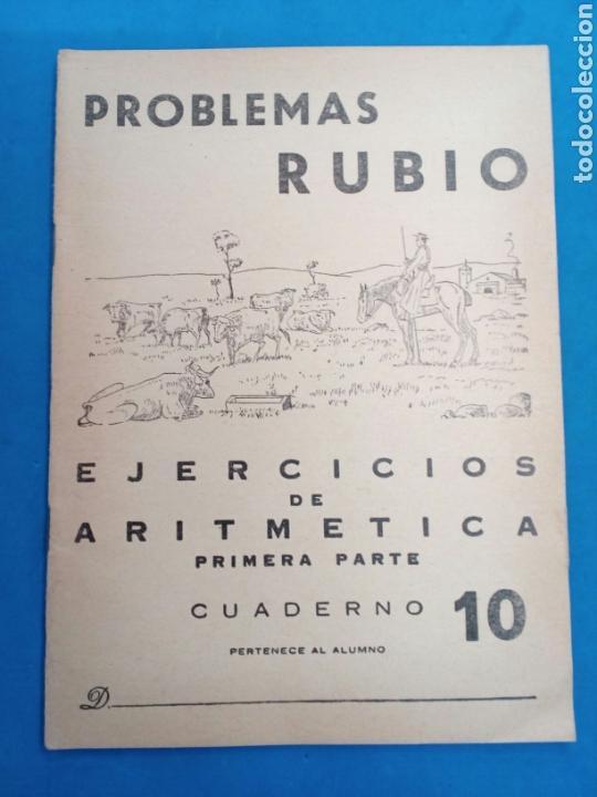 Libros: Lote 8 cuadernillos Rubio 7,9,10,12,13,15,16,17, Valencia años 1960-70 - Foto 4 - 156490580