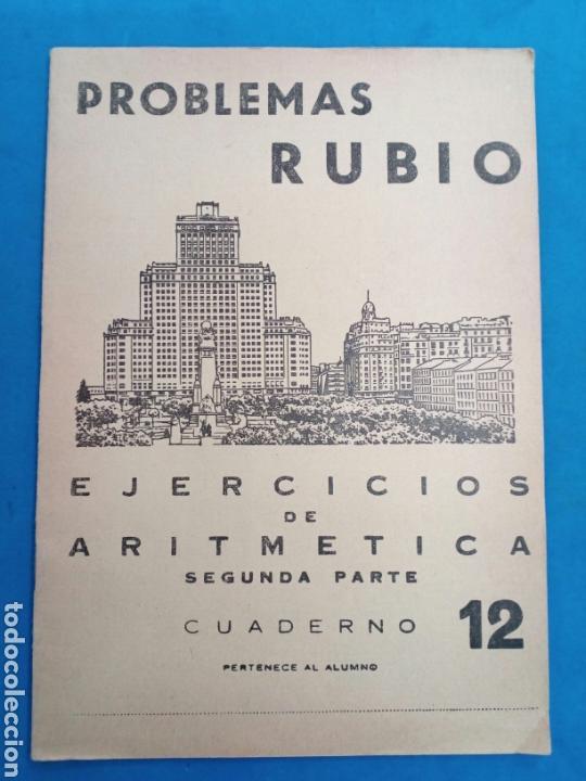 Libros: Lote 8 cuadernillos Rubio 7,9,10,12,13,15,16,17, Valencia años 1960-70 - Foto 5 - 156490580