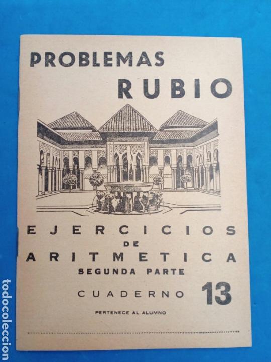 Libros: Lote 8 cuadernillos Rubio 7,9,10,12,13,15,16,17, Valencia años 1960-70 - Foto 6 - 156490580