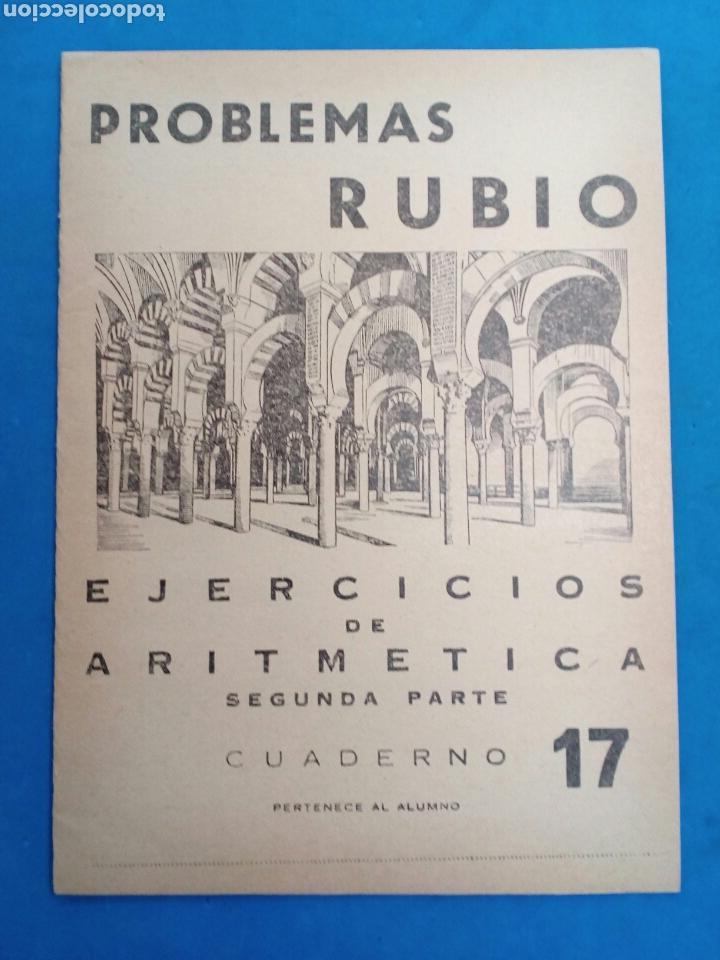 Libros: Lote 8 cuadernillos Rubio 7,9,10,12,13,15,16,17, Valencia años 1960-70 - Foto 7 - 156490580