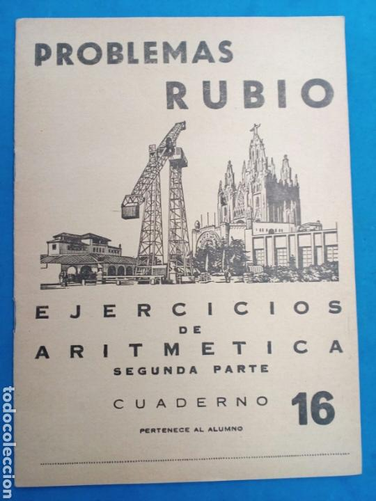 Libros: Lote 8 cuadernillos Rubio 7,9,10,12,13,15,16,17, Valencia años 1960-70 - Foto 8 - 156490580