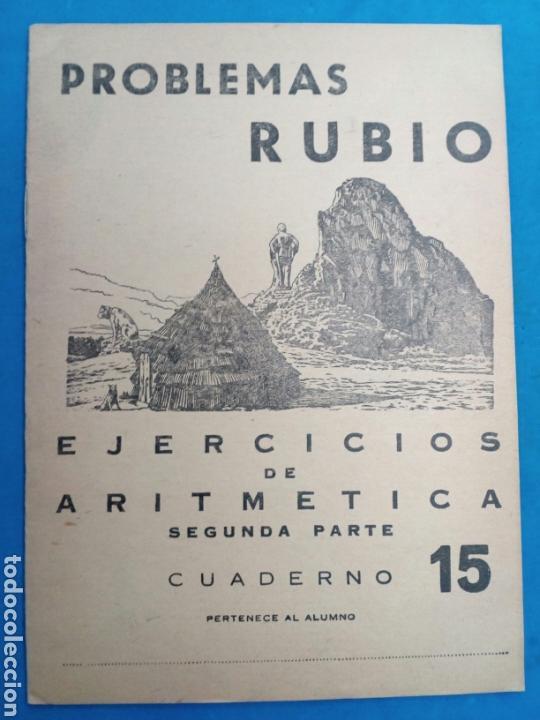 Libros: Lote 8 cuadernillos Rubio 7,9,10,12,13,15,16,17, Valencia años 1960-70 - Foto 9 - 156490580
