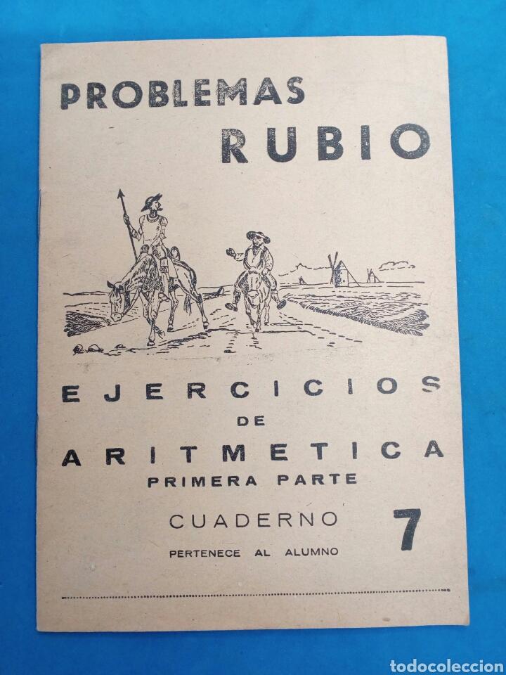 Libros: Lote 8 cuadernillos Rubio 7,9,10,12,13,15,16,17, Valencia años 1960-70 - Foto 2 - 156490580
