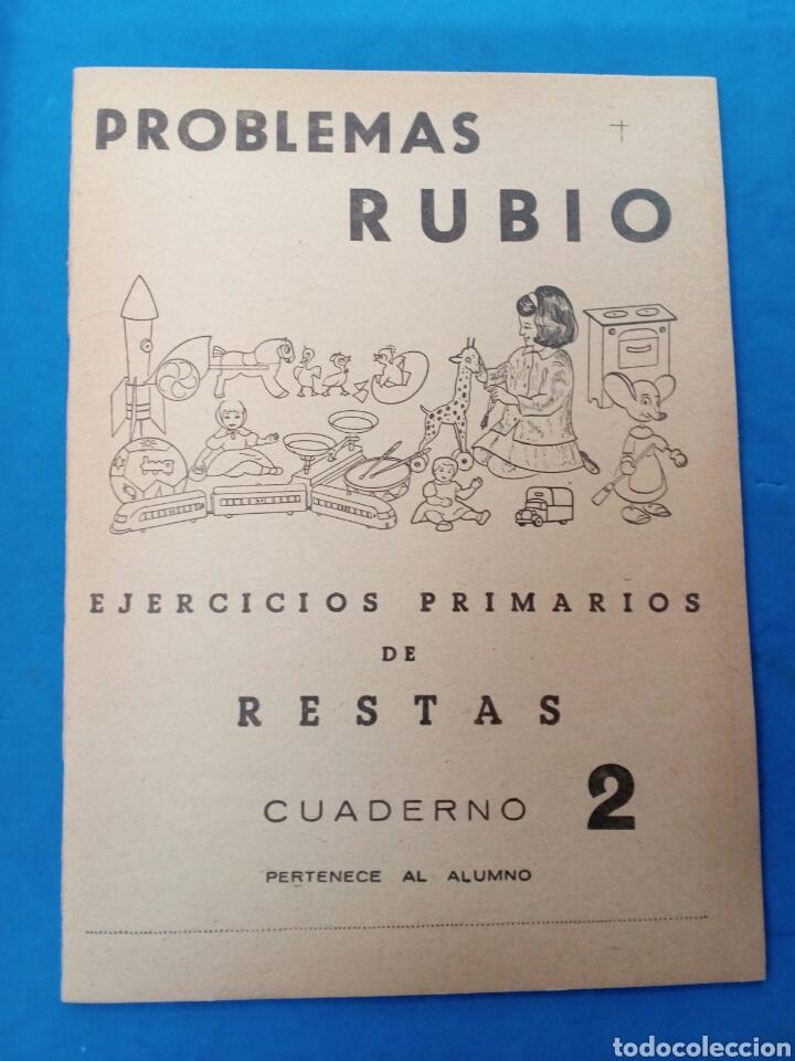CUADERNILLO RUBIO ,N° 2 EJERCICIOS DE RESTAS , VALENCIA , AÑOS 1960-70 (Libros Nuevos - Educación - Aprendizaje)