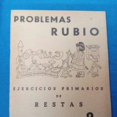 Libros: CUADERNILLO RUBIO ,N° 2 EJERCICIOS DE RESTAS , VALENCIA , AÑOS 1960-70. Lote 156492313