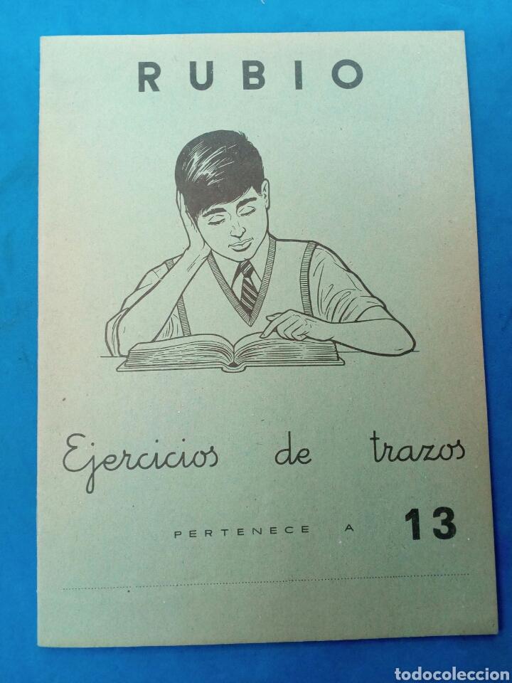CUADERNILLO RUBIO , EJERCICIOS DE TRAZOS , VALENCIA AÑOS 1960-70 (Libros Nuevos - Educación - Aprendizaje)
