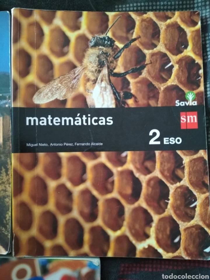Libros: Libros 2° ESO. Matemáticas. Lengua SM - Foto 4 - 156592388