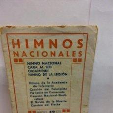 Libros: STQ.HIMNOS NACIONALES.CANCIONES DEL MOVIMIENTO.BRUMART TU LIBRERIA. Lote 157724078