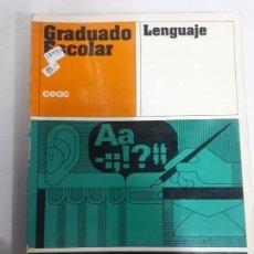 Libros: 13480 - GRADUADO ESCOLAR - LENGUAJE. Lote 158204590
