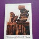 Libros: CATÁLOGO 2006 PUBLICACIONES DE LA UNIVERSIDAD DE VALENCIA. Lote 159350806