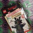 Libros: LEGO NINJAGO. EL CONQUISTADOR (EL DIARIO DE ACTIVIDADES DE GARMADÓN). Lote 159712294