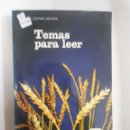 Libros: 12674 - TEMAS PARA LEER Nº 6 - EGB. Lote 159935870