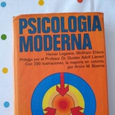 Libros: PSICOLOGÍA MODERNA. EINER LEGEWIE. Lote 161925846