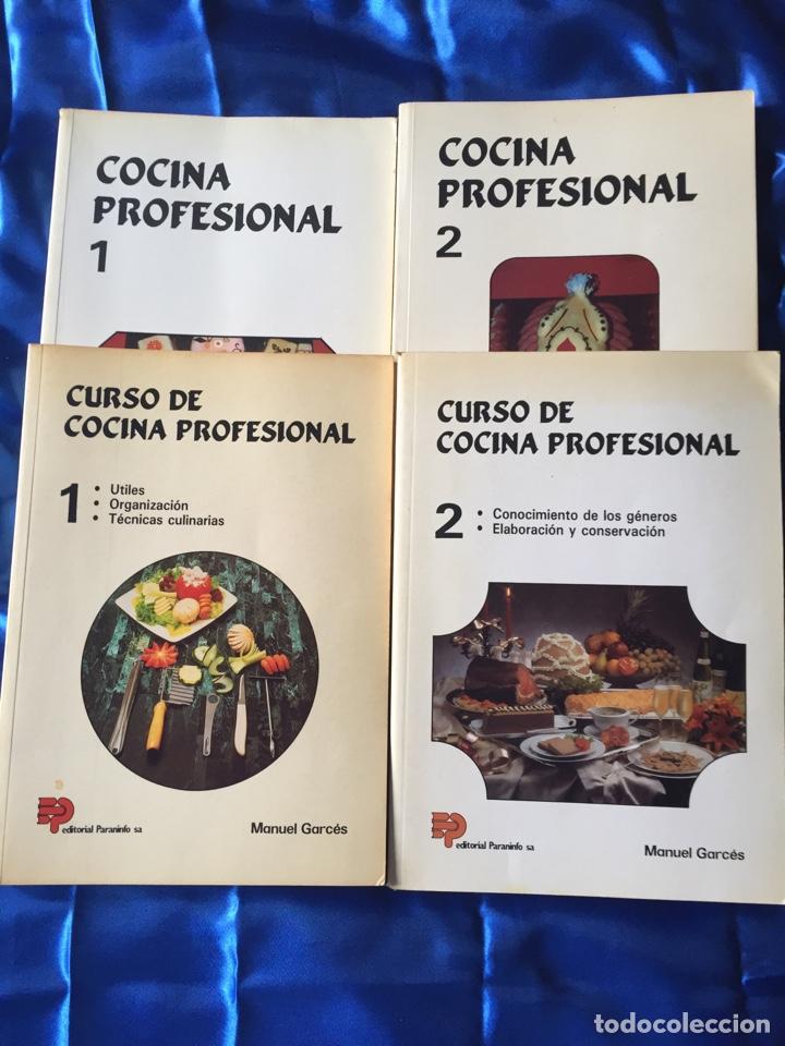 COCINA PROFESIONAL LOTE 4 (Libros Nuevos - Educación - Aprendizaje)