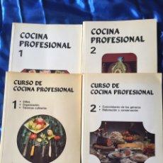 Libros: COCINA PROFESIONAL LOTE 4. Lote 167778298