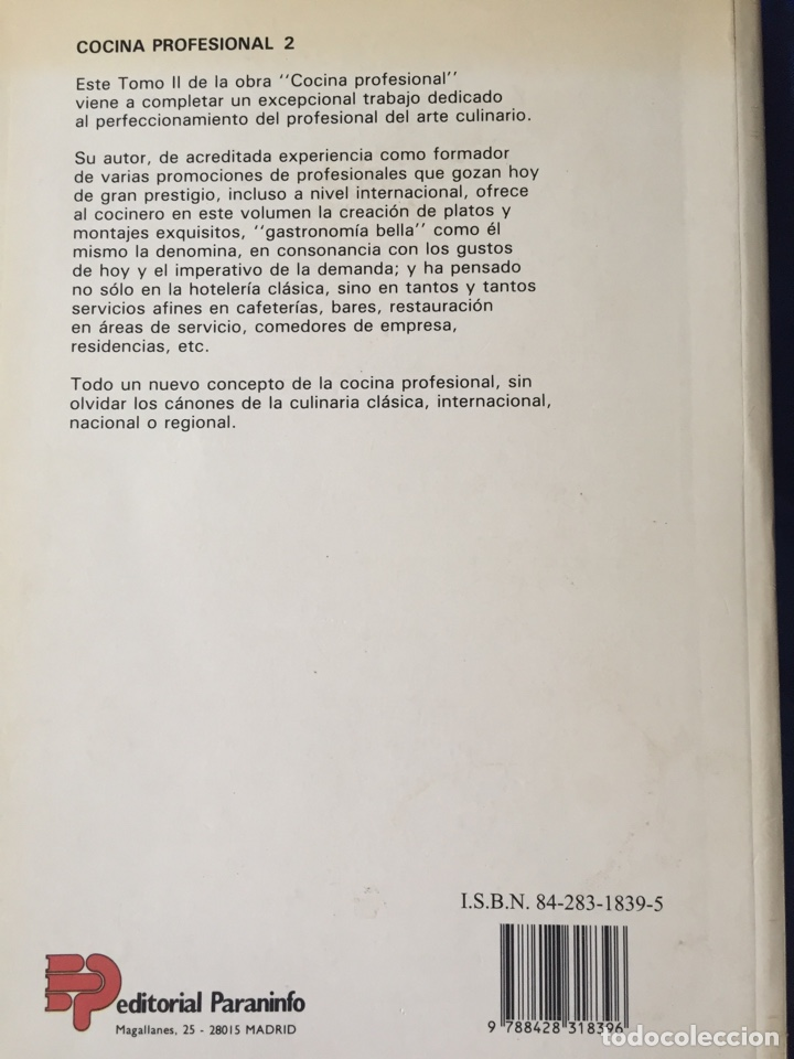 Libros: Cocina profesional lote 4 - Foto 3 - 167778298